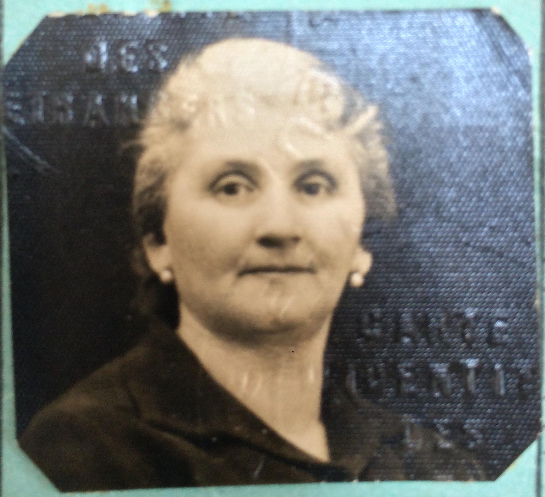 Léa ISH-SADEH 1934 [ADLA 4M923]