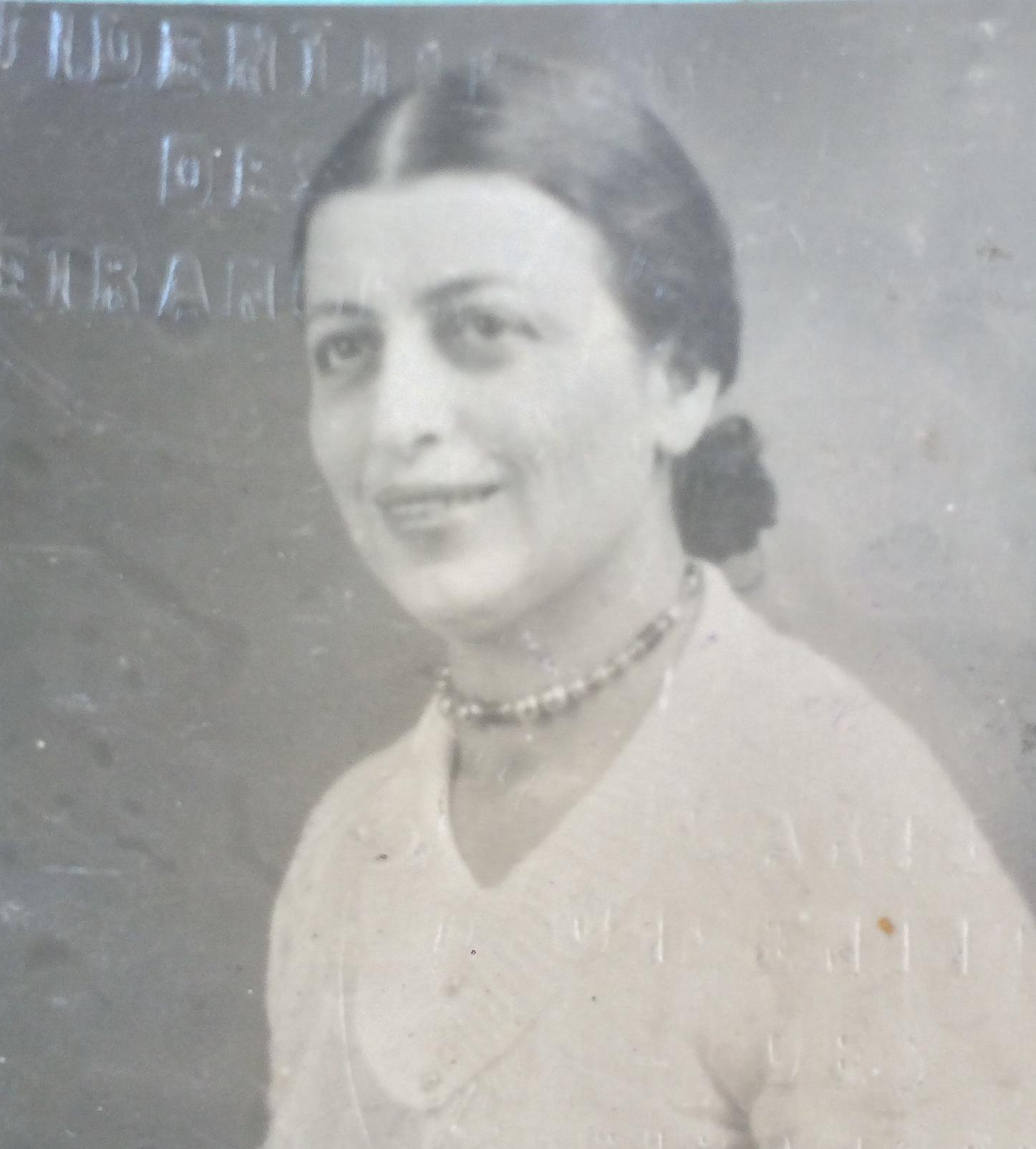 Ludmilla SCHATZ 1934 [ADLA 4M896]