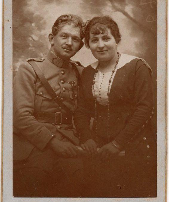 Jean RIOT et Yvonne RIOT née RISS ©collection particulière