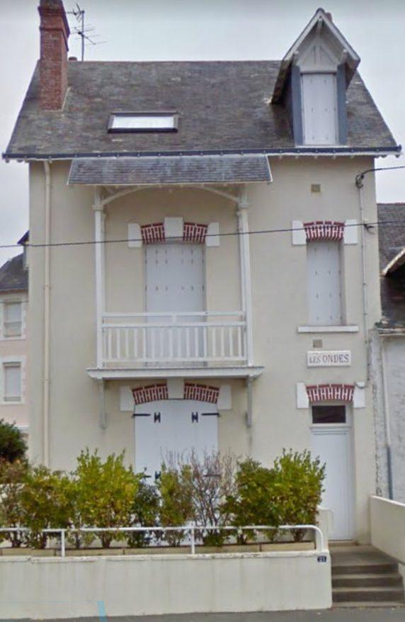 """Villa """"Les Ondes"""" rue de Verdun LE POULIGUEN"""