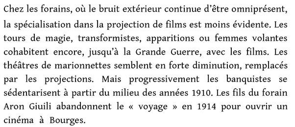 BARNIER, Martin : Bruits, cris, musiques de films : les projections avant 1914. Presses Universitaires de Rennes, 2011