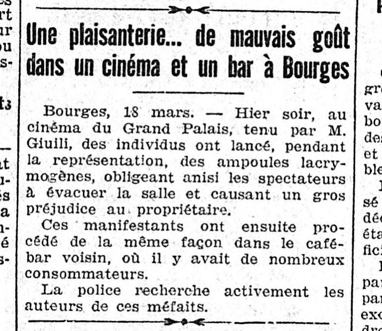 Le Populaire, 19 mars 1933