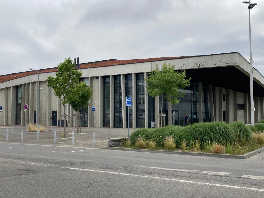Gymnase Henri FOGEL Saint-Nazaire [collection particulière]