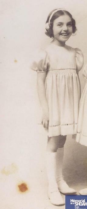 Sylvie ROSENTHAL [CDJC, Mémorial de la Shoah, en ligne]