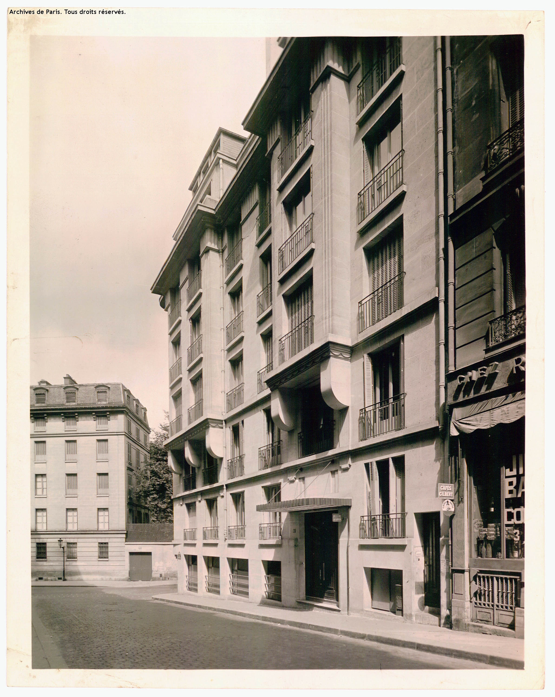1, rue René Pauline Paris (6ème arrondissement) [Archives Photographiques de la Mairie de Paris, 11FI4753]