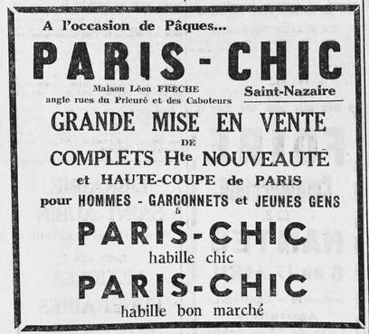 Courrier de Saint-Nazaire et de la Région 01 avril 1939 [ADLA, presse en ligne]