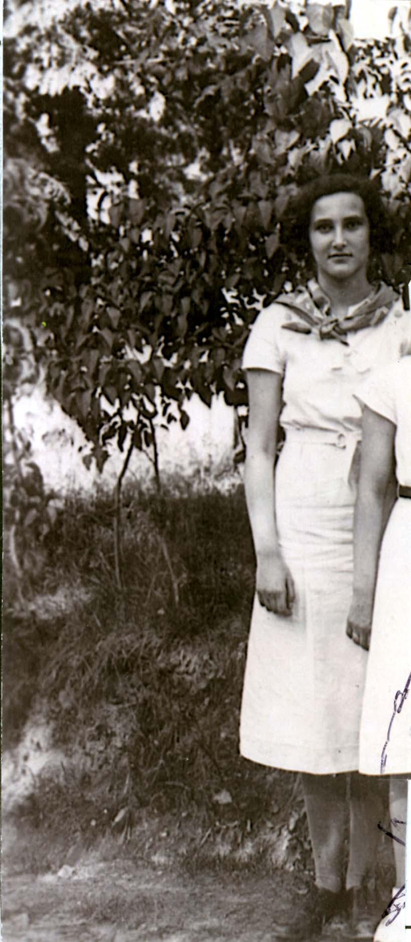 Huguette METZGER [Yad Vashem, en ligne]