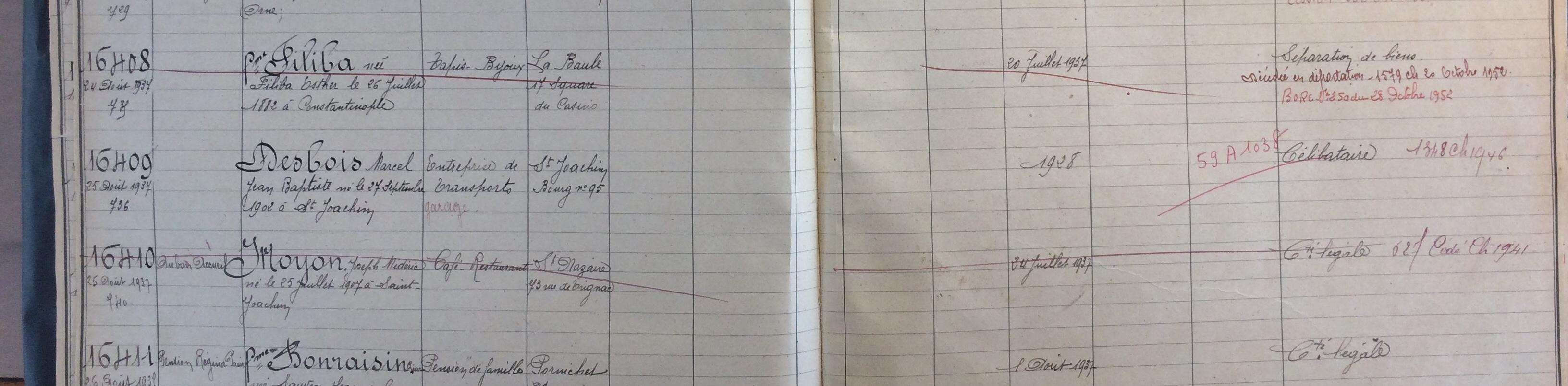 Registre du commerce Saint-Nazaire [ADLA 22U152]