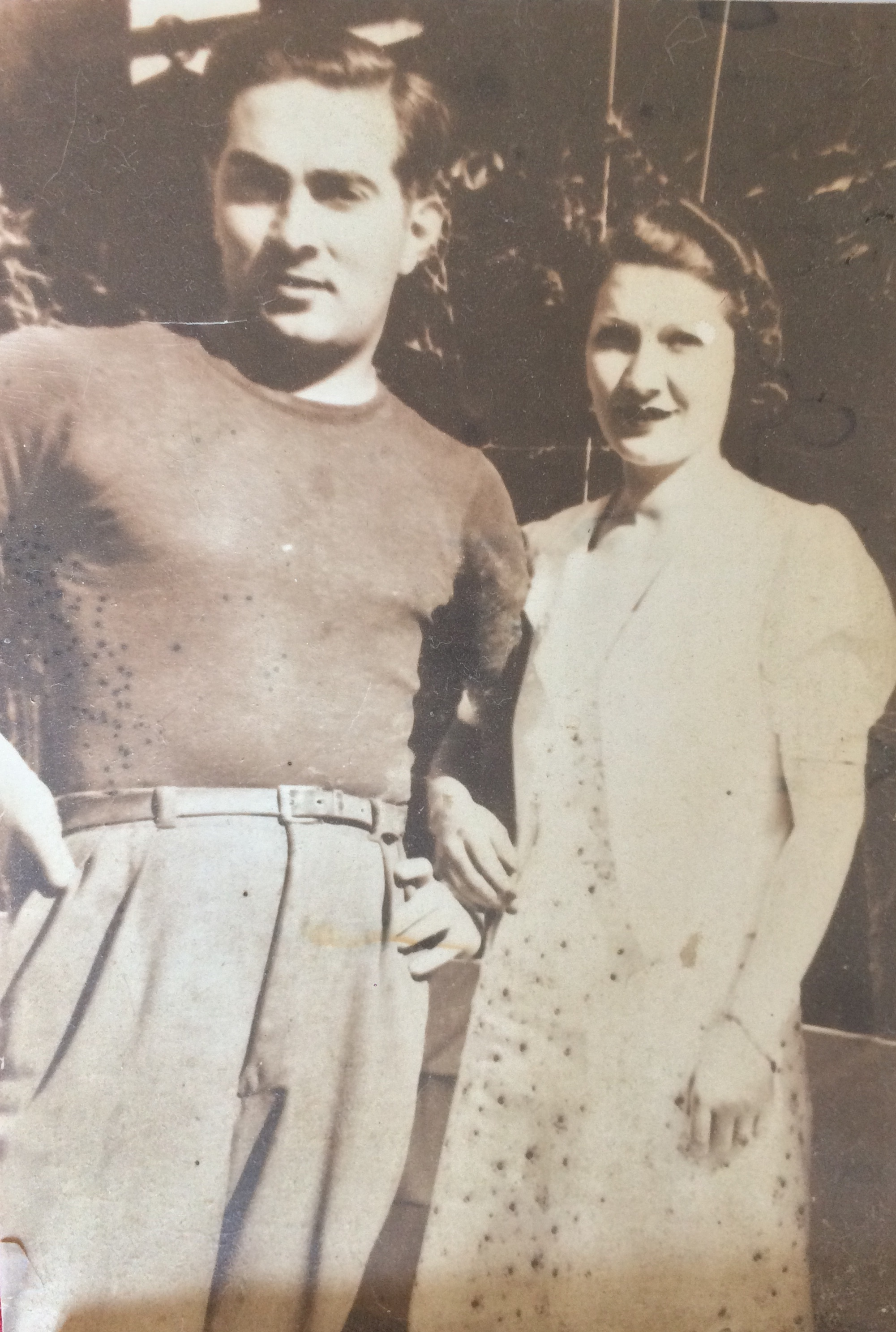 David dit Fernand et Yvette HIKIM (années 30) © collection particulière