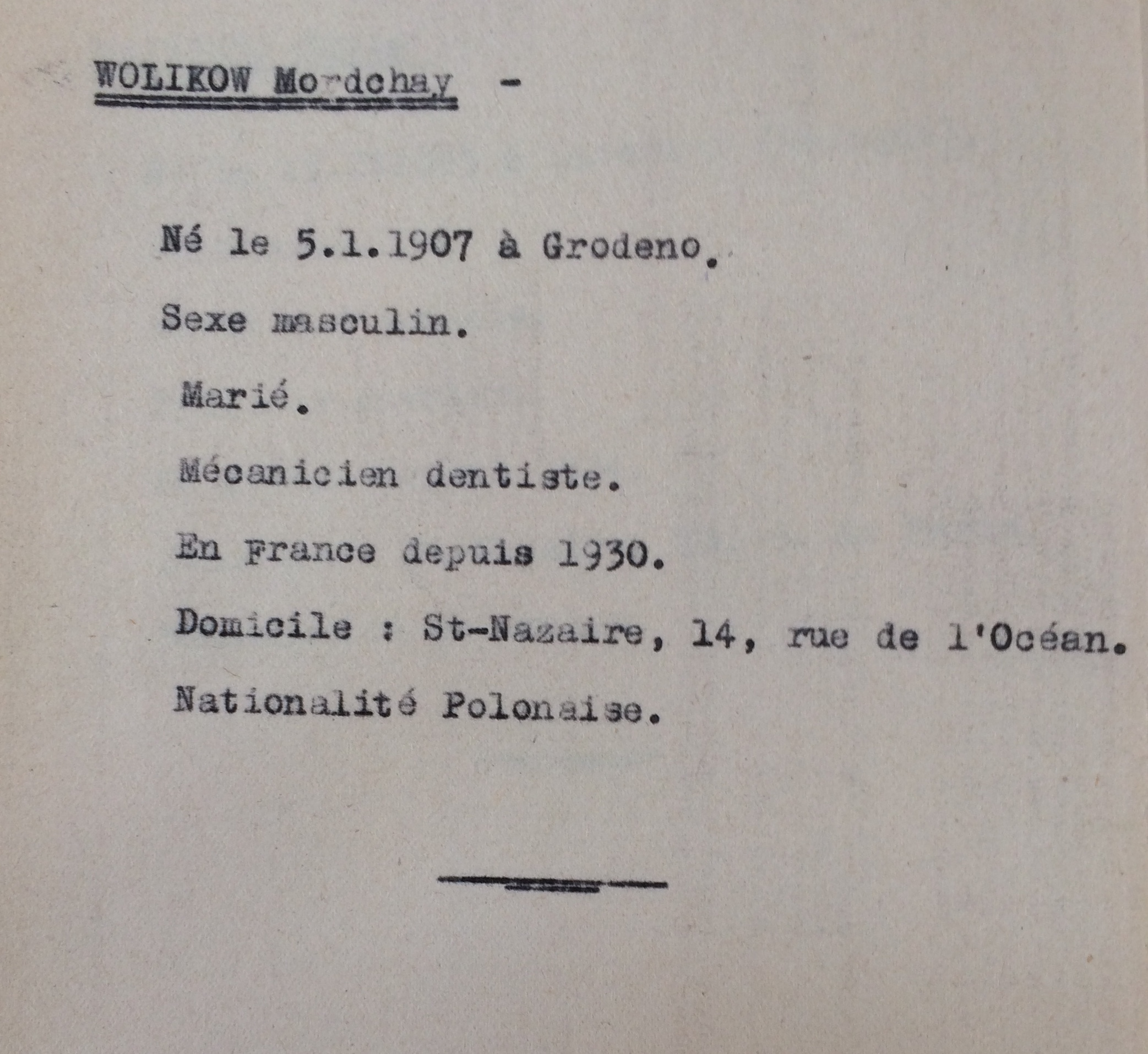 recensement Polonais/Slovaques/Autrichiens/Allemands [ADLA 1694W25]