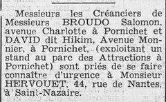 Courrier de Saint-Nazaire et de la Région du 02 octobre 1941 [ADLA, presse en ligne]