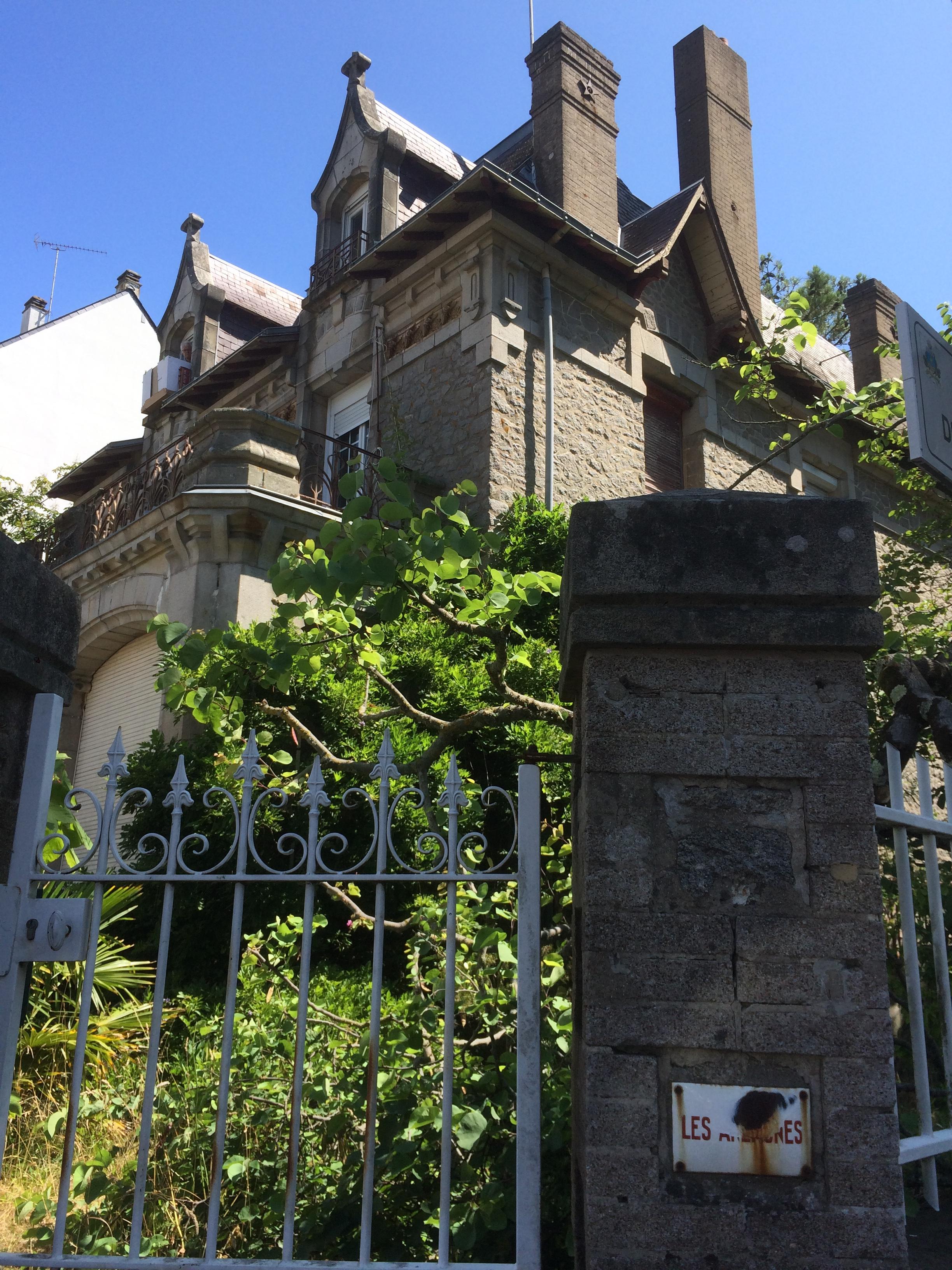 """Villa """"Les Anémones"""" Avenue des Evens La Baule  © collection particulière"""