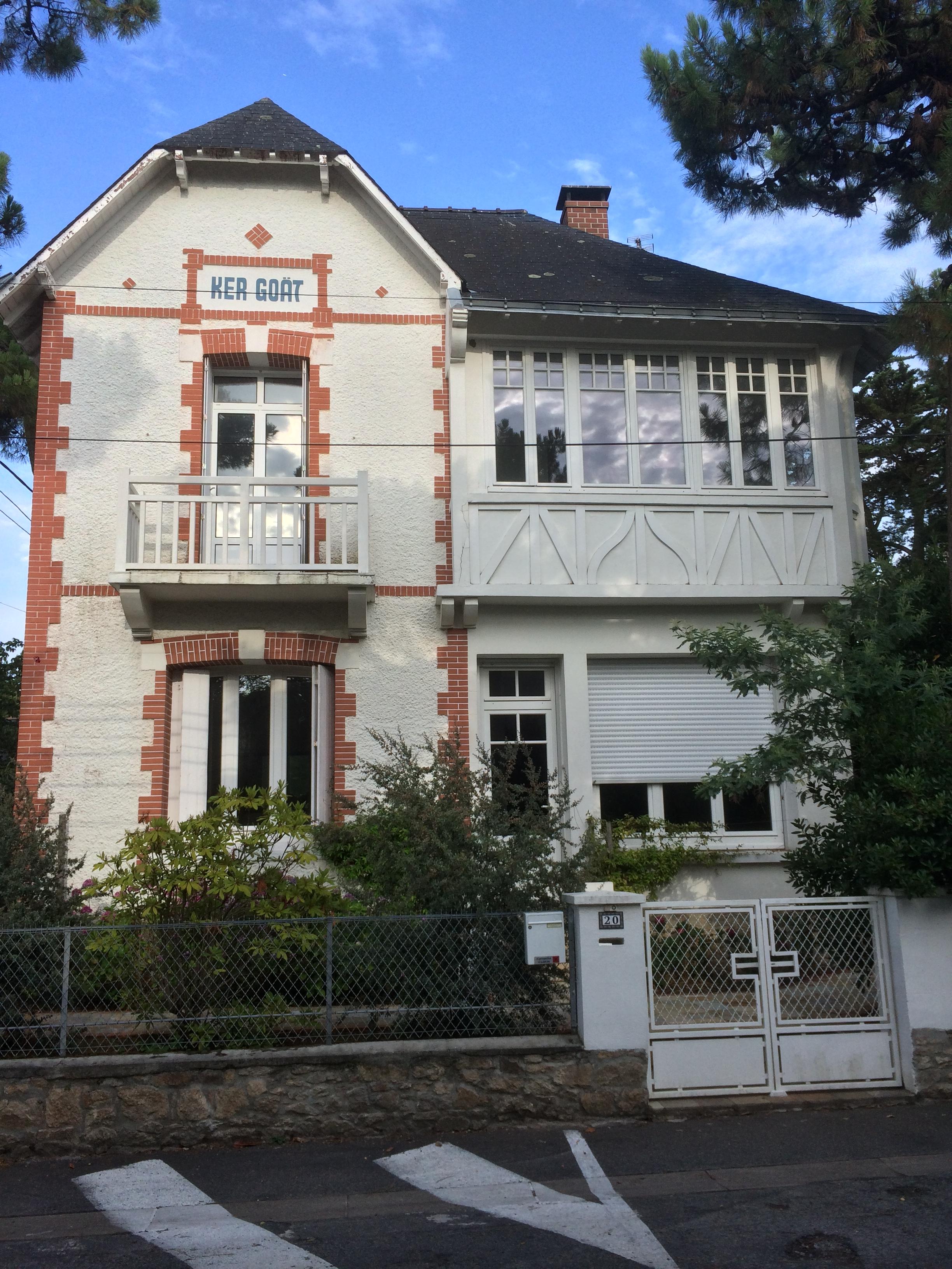Villa Ker Goät, avenue de la Pierre Percée La Baule