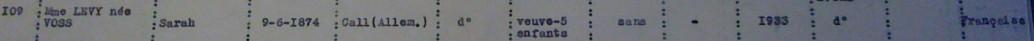 Extrait liste dactylographiée recensement Saint-Nazaire [ADLA 1694W25]