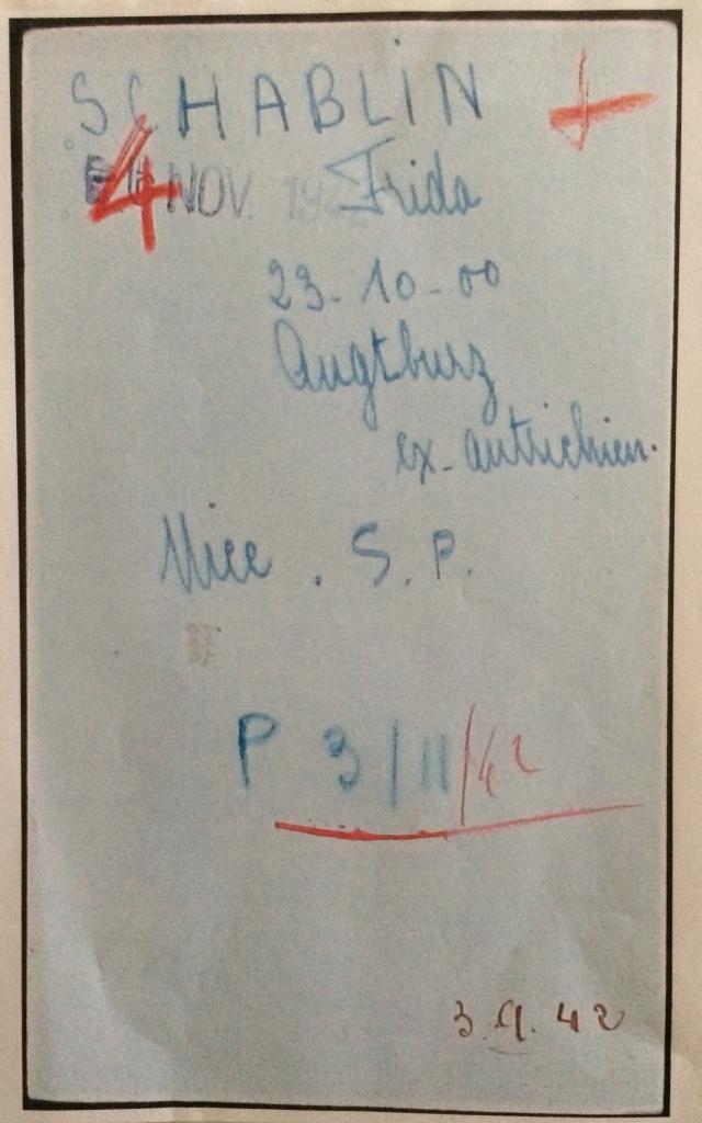 Fiches d'internement des camps de Beaune-la-Rolande, Pithiviers et Drancy [Archives Nationales, F9]