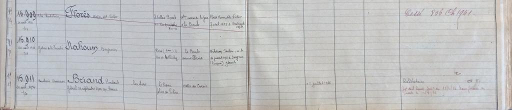 Registre du commerce Saint-Nazaire [22U152]