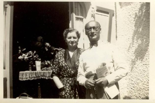 Else et Paul AUERBACH Villa Serpolette Le Pouliguen