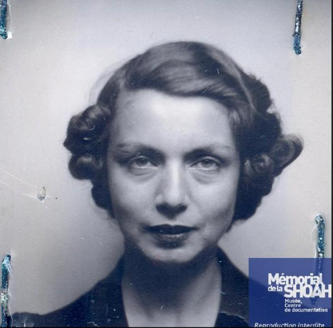 Linda BESSO [CDJC, Mémorial de la Shoah, en ligne]