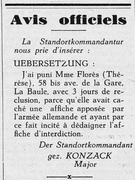 La Mouette 13 octobre 1940 [ADLA, presse en ligne]