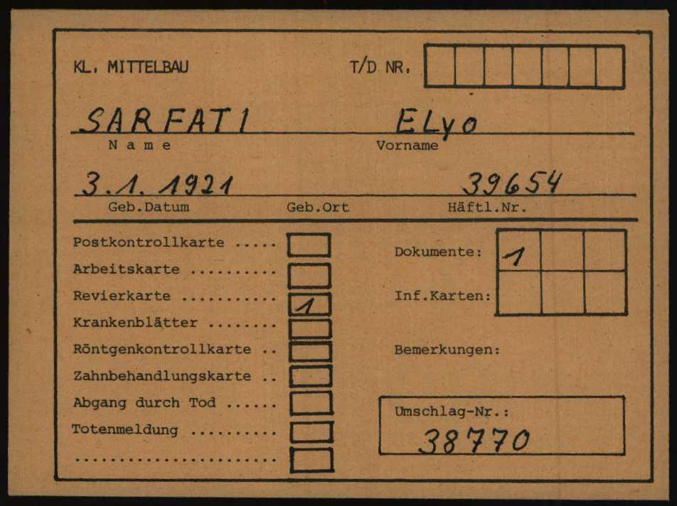 Enveloppe BAD AROLSEN de Elyo SARFATI [ItsBadArolesen, en ligne]