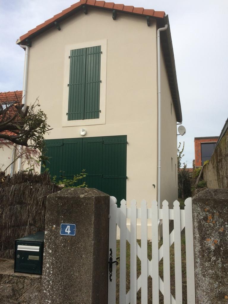 Villa Marouf Préfailles côté rue