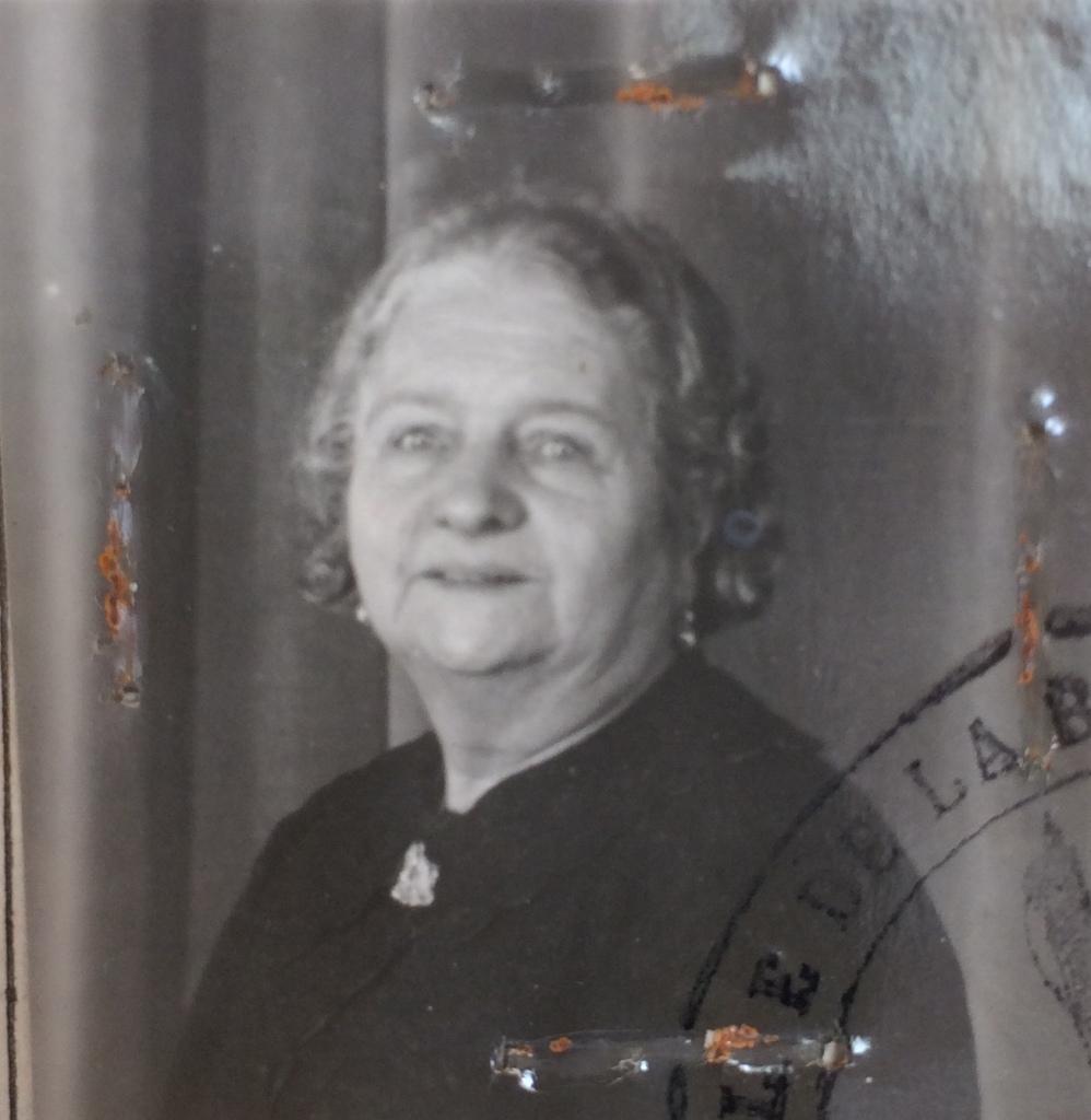 Sarah KLAPISCH 1939 [ADLA 4M938]