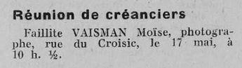 Affiches Régionales de l'Ouest 14 mai 1935  [ADLA, presse en ligne]