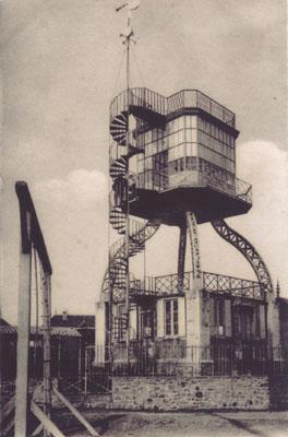 La tour Rochereau au Pouliguen. Carte postale, vers 1920. Coll. part.