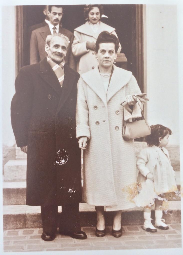 Au premier plan Isaac et Djoya FLORIS 1956   © collection particulière