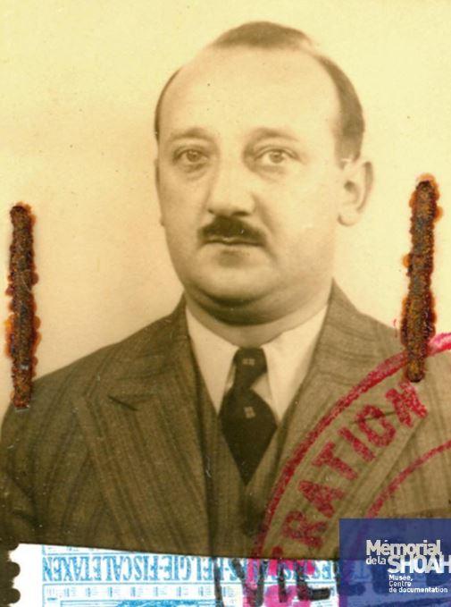 Herman FAJGENBAUM [Musée de Malines, CDJC, Mémorial de la Shoah, en ligne]