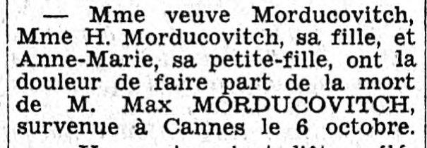 Le Figaro 13 octobre 1940