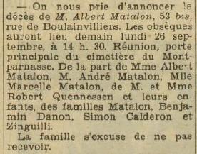 L'Excelsior 25 septembre 1938