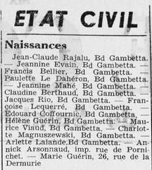 Courrier Saint-Nazaire et Région 16 décembre 1939 [ADLA presse en ligne]