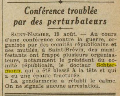 L'Excelsior 20 août 1932 [Retronews, en ligne]