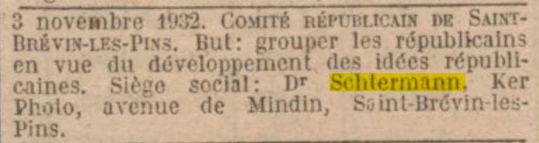 Journal Officiel de la République Française 18 novembre 1932 [Gallica, en ligne]