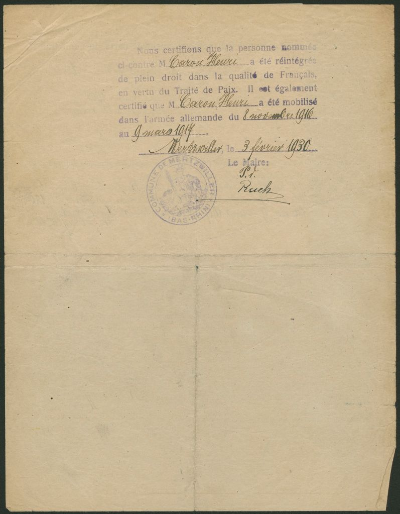 [Archives Départementales du Bas-Rhin 844 D 61/13]