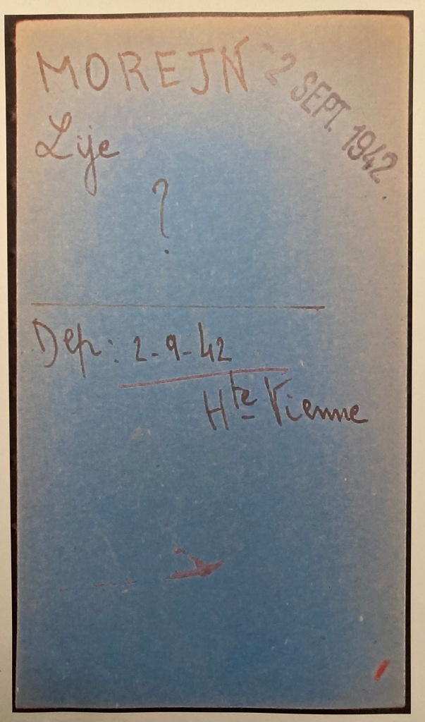 Fiche d'internement du camp de Drancy [AN, F9/5717]