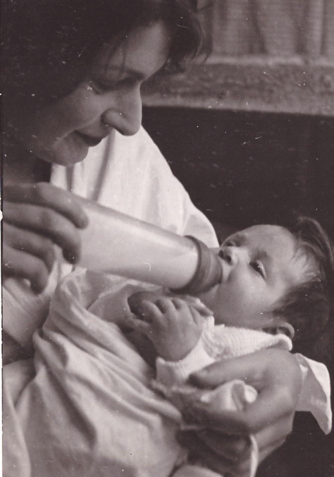 Ruth et Anja SCHAUL 1938