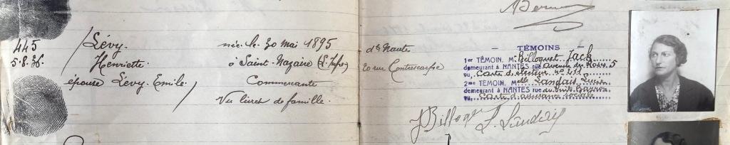 Registre Délivrance Carte d'Identité, Archives Départementales de Loire-Atlantique, 4M397