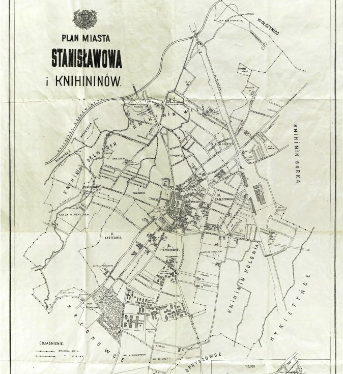 Plan Stanislawowa 1919