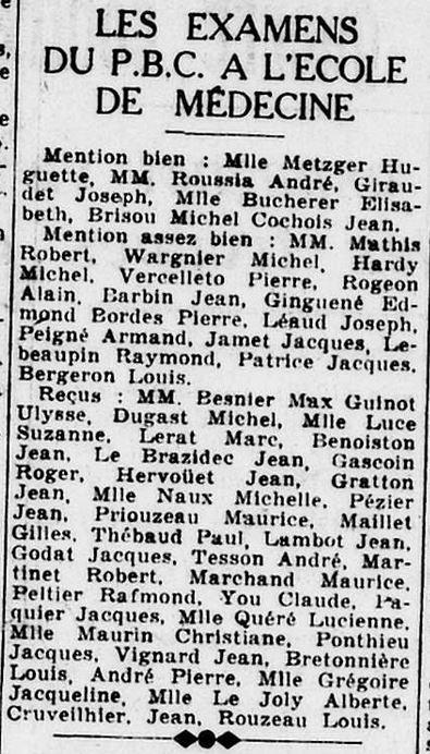 Le Phare de La Loire 28 juin 1941 [ADLA, en ligne]